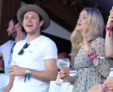 Niall Horan and Laura Whitmore hang out