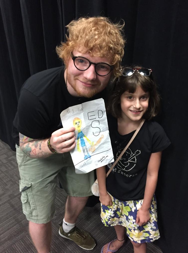 Ed Sheeran & Superfan Kate