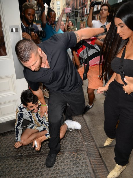 Kim Kardashian's fans go a bit mental as she heads