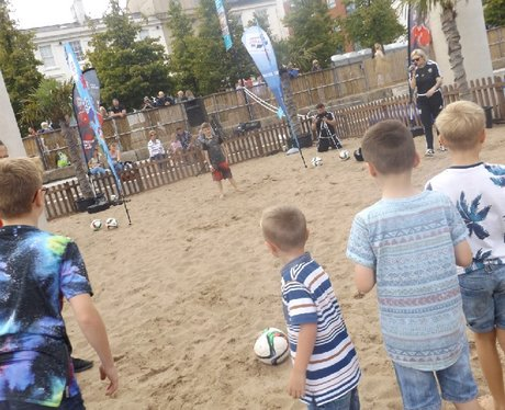 FAW Beatball @ Cardiff Bay Beach