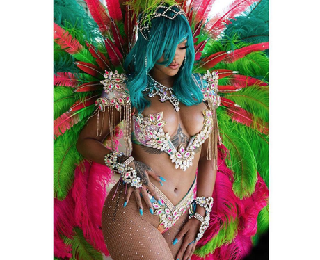 Rihanna's look at carnival is iconic
