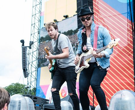 Busted V Festival 2017 Saturday