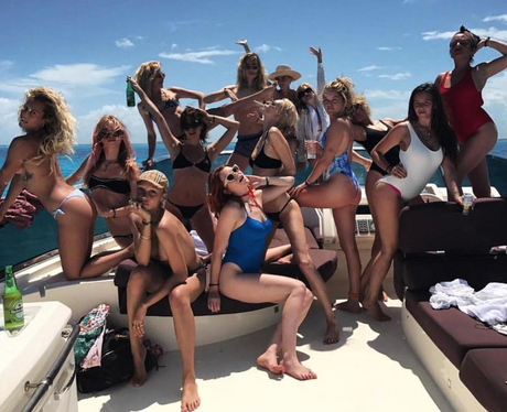 Cara Delevingne has a lavish boat party for her bi