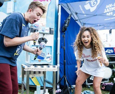 V Festival 2017 backstage