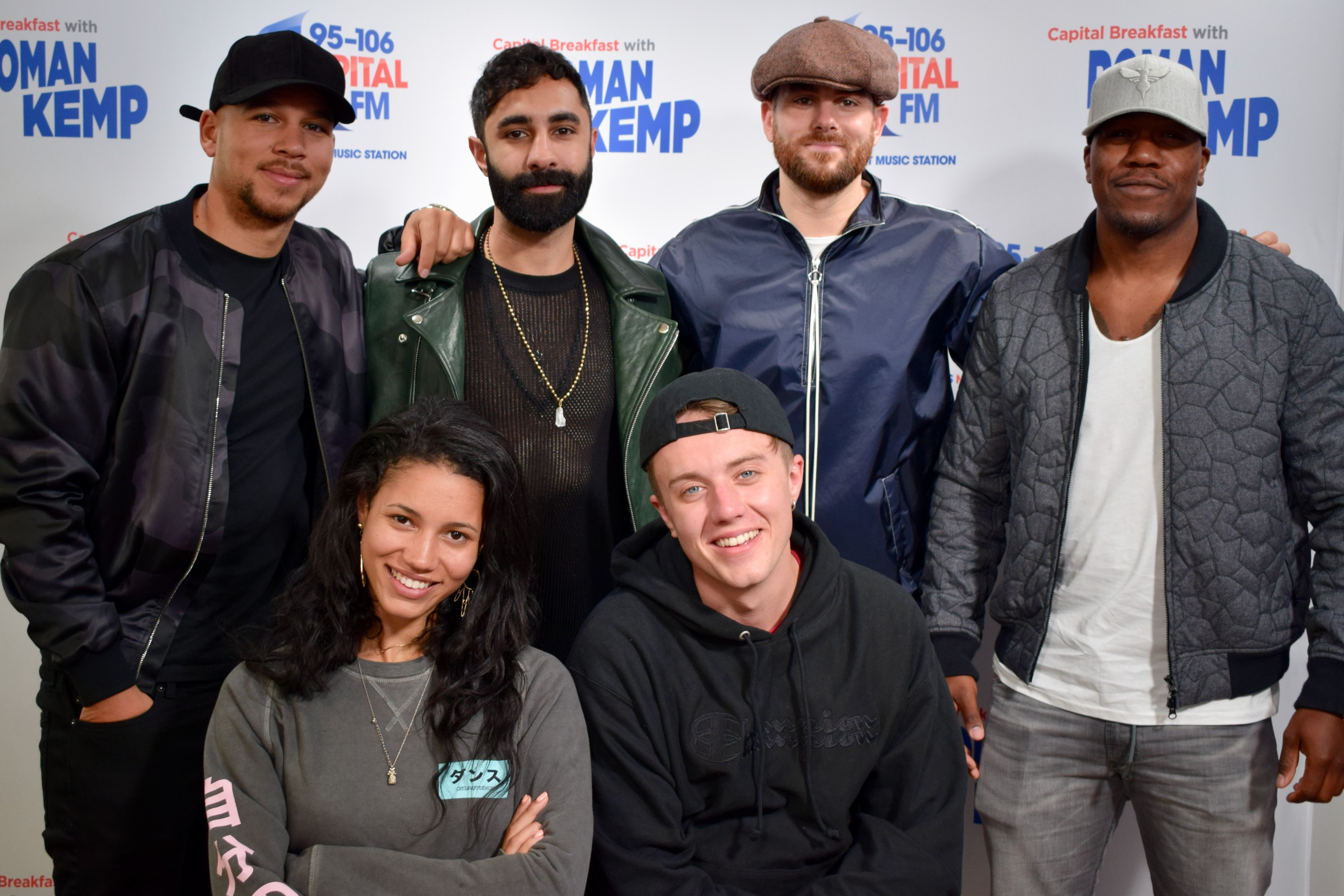 Rudimental on Capital Breakfast with Vick Hope