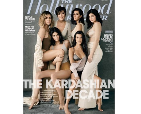 The Kardashian Decade for The Hollywood Reporter