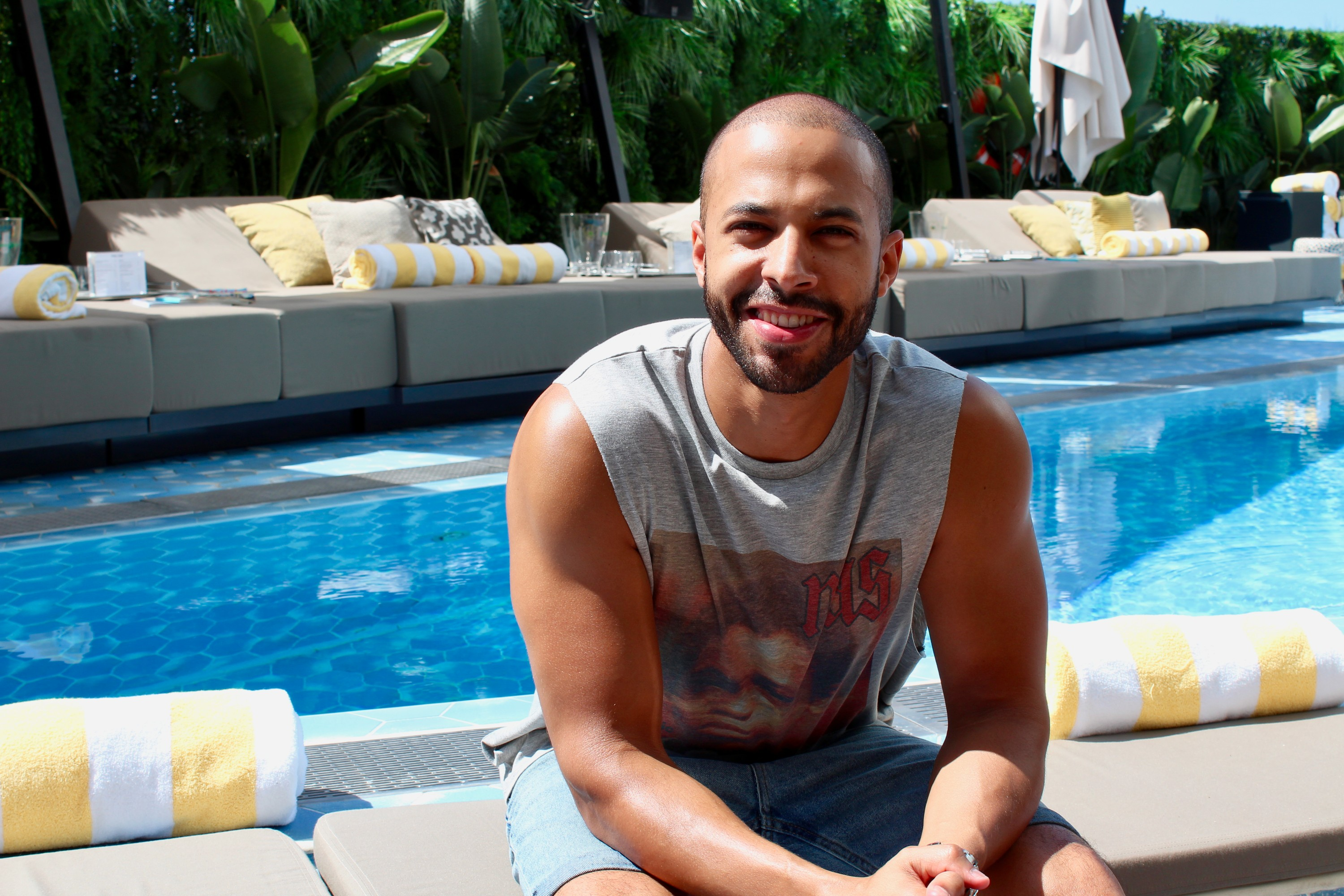 Marvin Humes in Ibiza