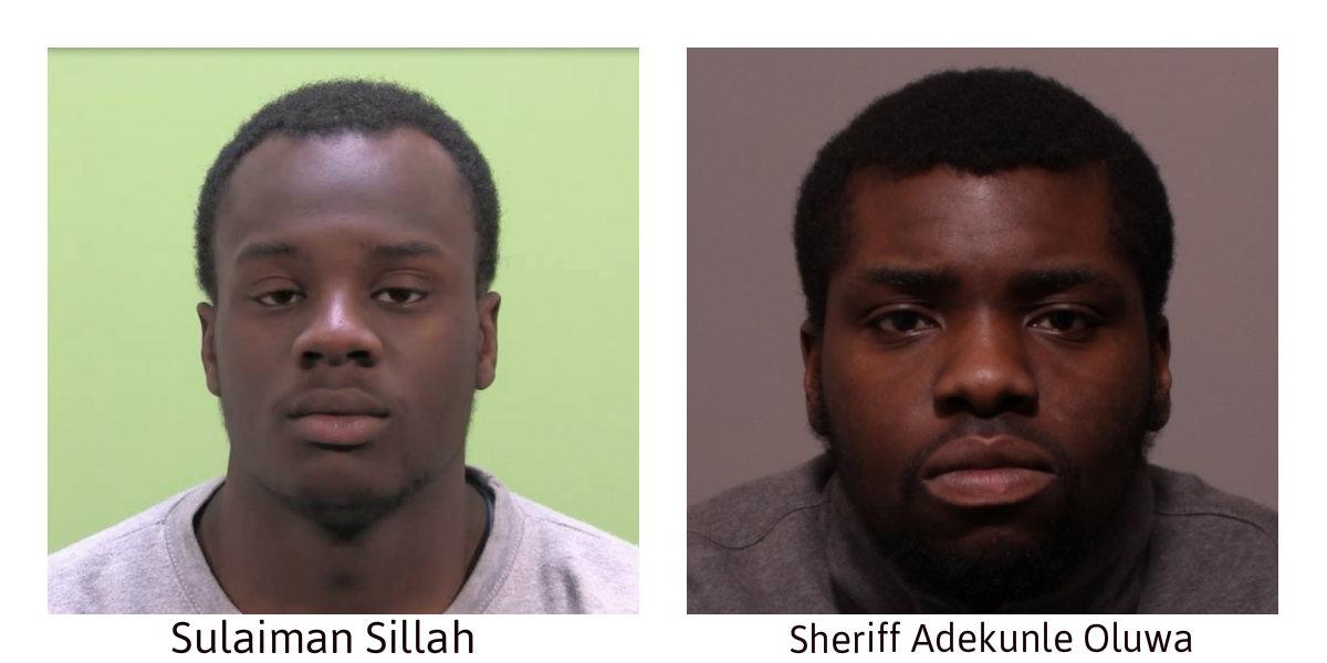 Sulaiman Sillah and Sheriff Adekunle Oluwa
