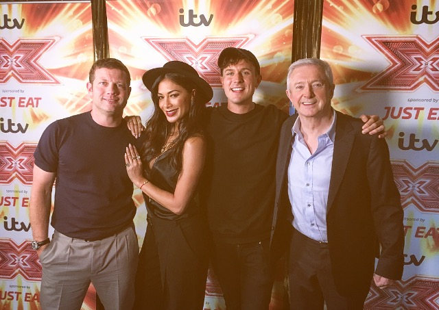 Jimmy Hill Meets The X Factor Judges