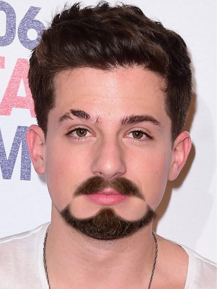 Celebrities with Facial Hair