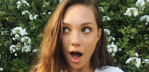 Maddie Ziegler pairs an ACDC tee with Nike Air Force 1