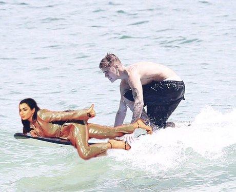 Charli XCX photoshops herself into bizarre photos