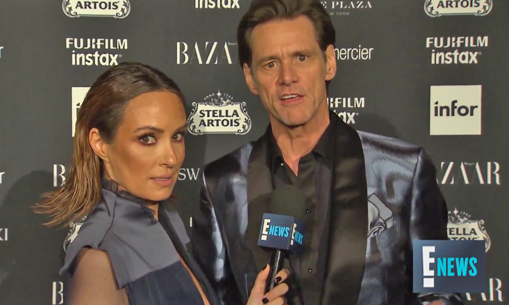Jim Carrey E! Interview