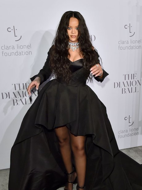 Rihanna at her annual Diamond Ball