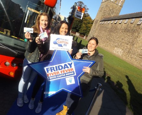 Friday Fiver Fever with Castle Bingo