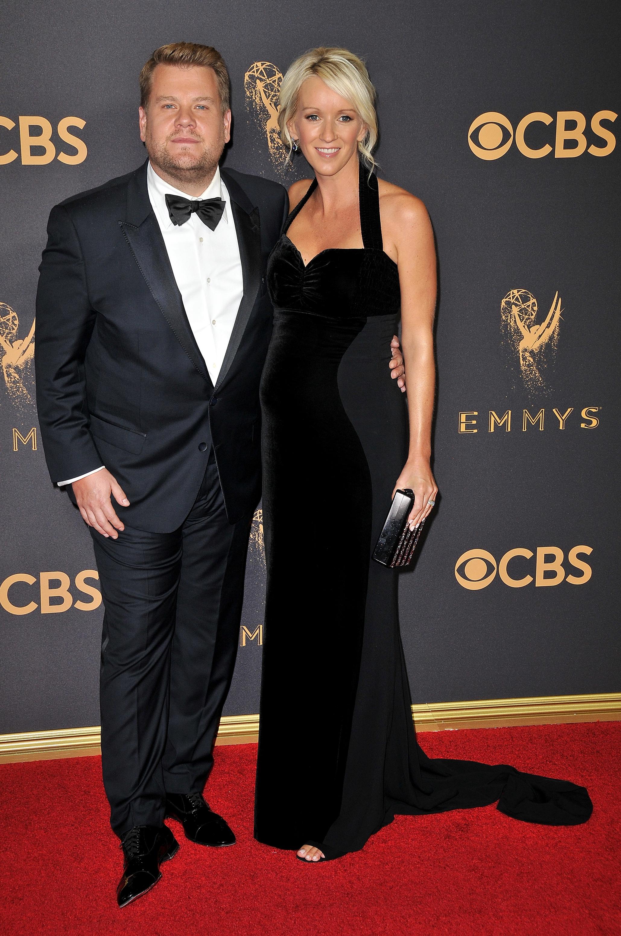 James Corden & His Wife Julie