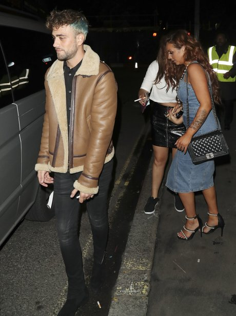 Jesy Nelson spotted on rare night out with new boy