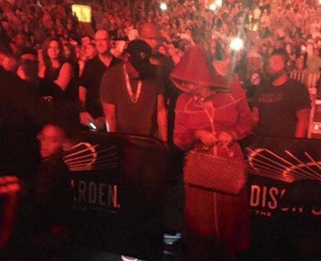Beyonce and Jay-Z at Bruno Mars' gig