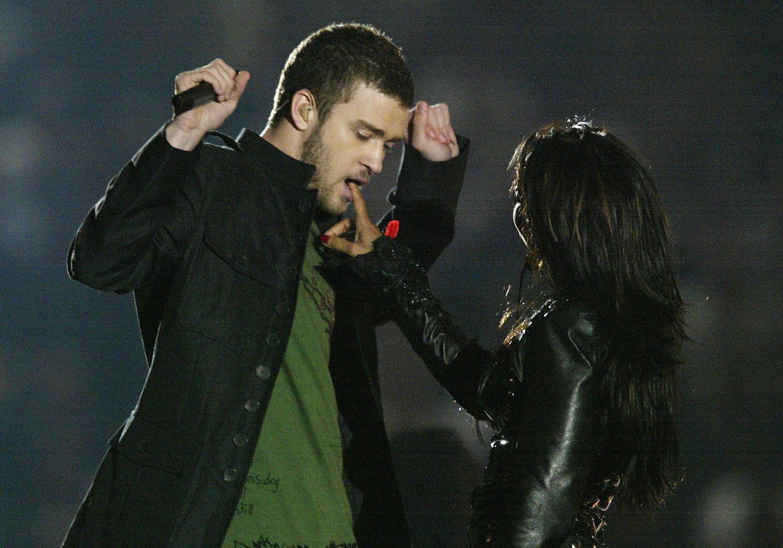Justin Timberlake Janet Jackson Super Bowl XXXVIII