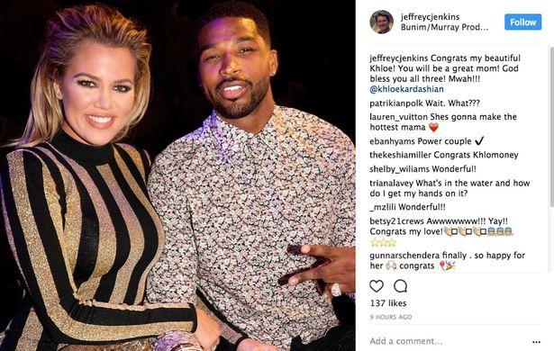 Khloe Kardashian Baby Instagram Post