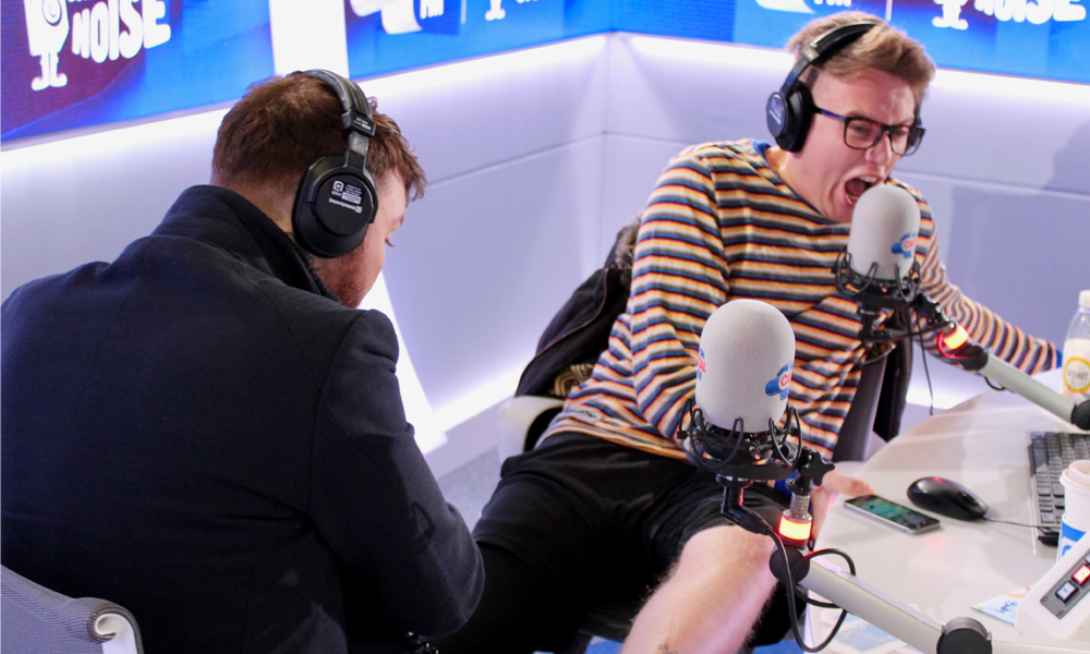 James Arthur Waxes Roman Kemp's Leg