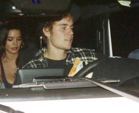 Justin Bieber takes his new girlfriend to church