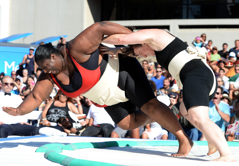 Sharran Alexander US Sumo Open