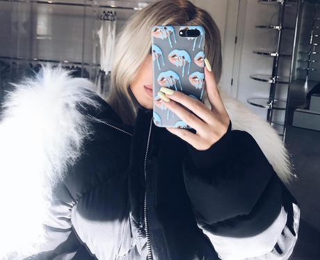 Kylie Jenner opts for blonde hair as she continues
