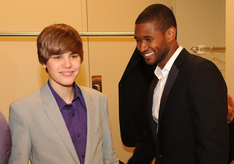 Usher Justin Bieber Annual World Leadership Awards