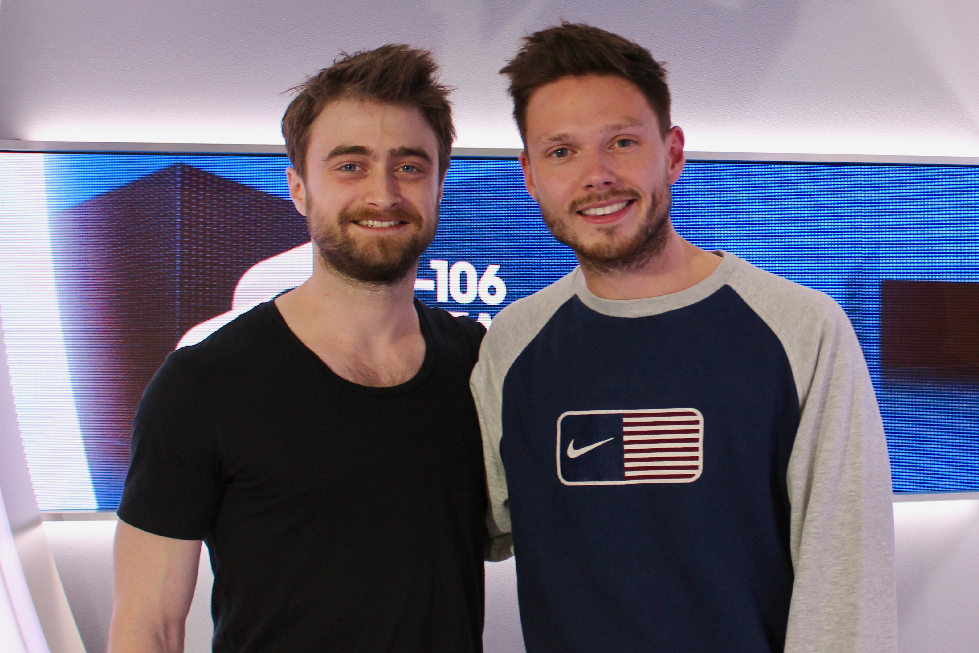 Daniel Radcliffe with Will Manning