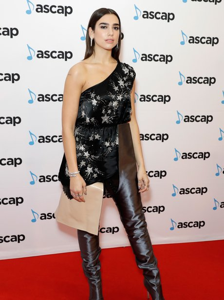 Dua Lipa picks up award at ASCAP Awards
