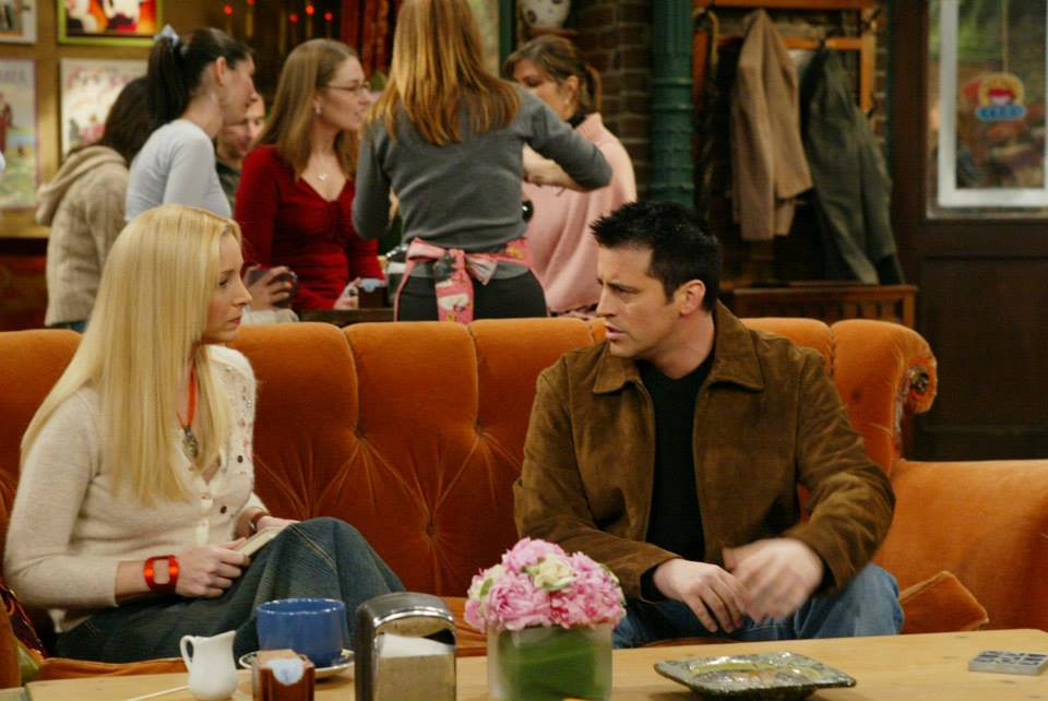 Joey and Phoebe 'Friends' Central Perk
