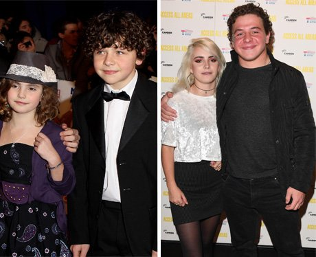 Outnumbered kids then and now