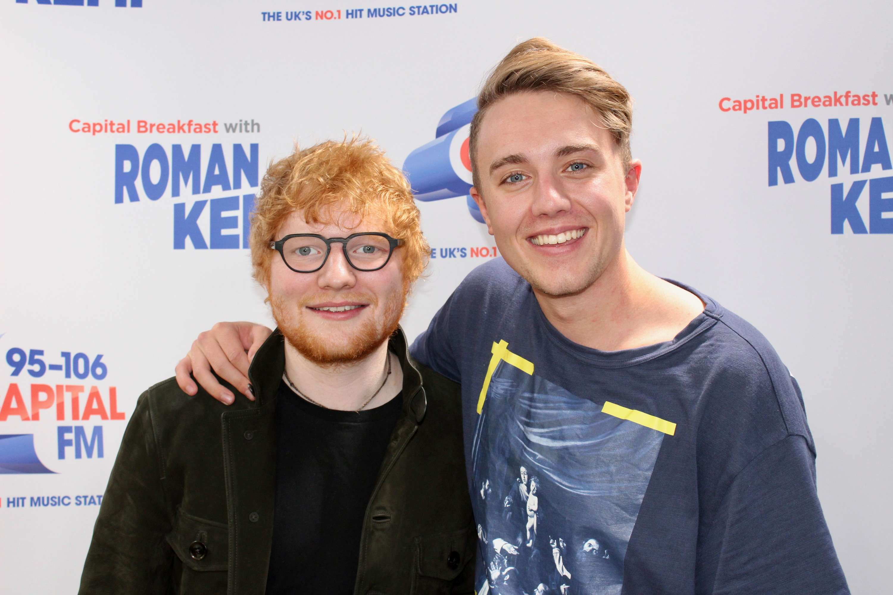 Ed Sheeran on Capital Breakfast w/ Roman Kemp