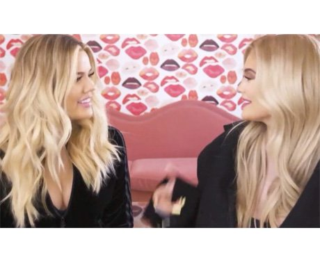 Khloe Kardashian and Kylie Jenner joke about havin