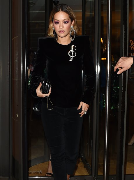 Rita Ora heads out to celebrate her sisters birthd