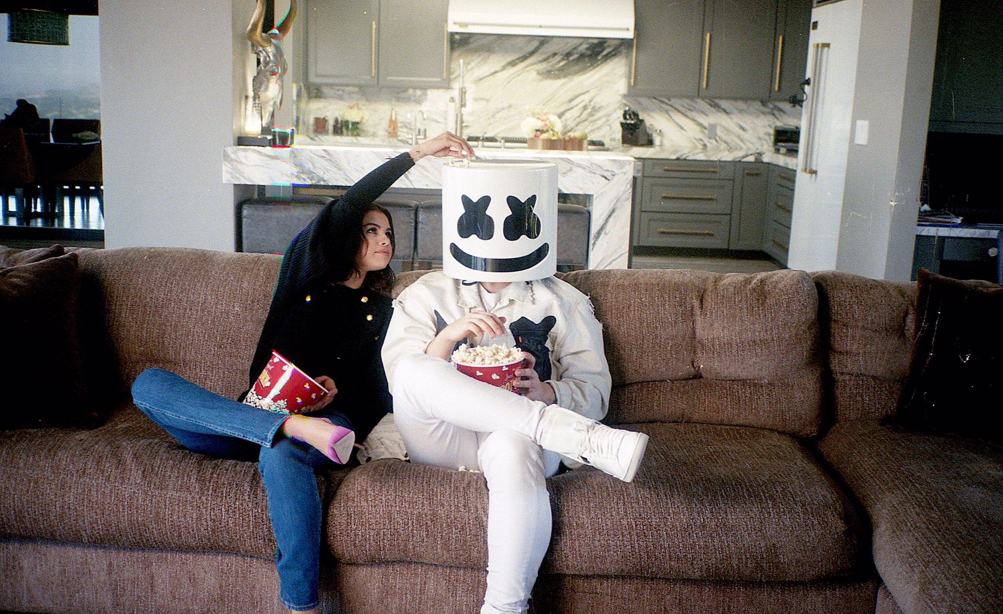 Selena Gomez and Marshmello