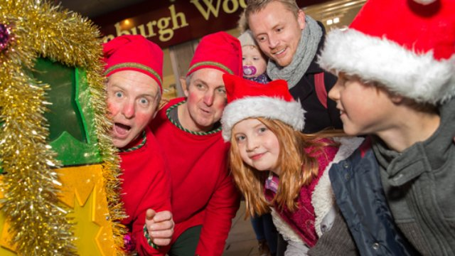 Step Into Christmas.Step Into Christmas Capital South Wales