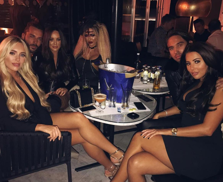 Charlotte Crosby & Pete Wicks Spotted In Halloween