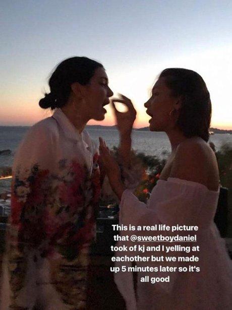 Kendall Jenner Gigi Hadid Argument