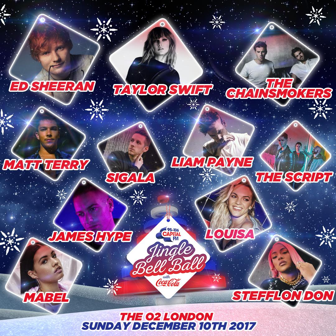 buy jingle bell ball tickets