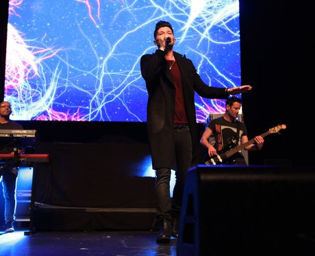 The Script performing