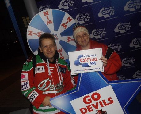 Cardiff Devils Vs Edinburgh Capitals