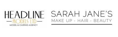 Headline Models and Sarah Jane Logo