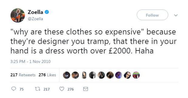 Zoella Tweets