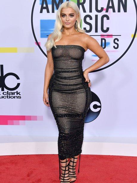 Bebe Rexha American Music Awards 2017