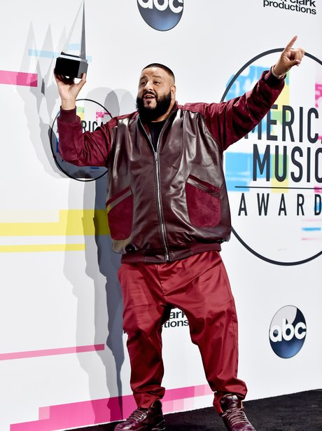 DJ Khaled American Music Awards 2017