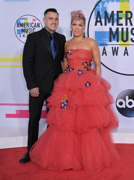 Pink and Carey Hart American Music Awards 2017