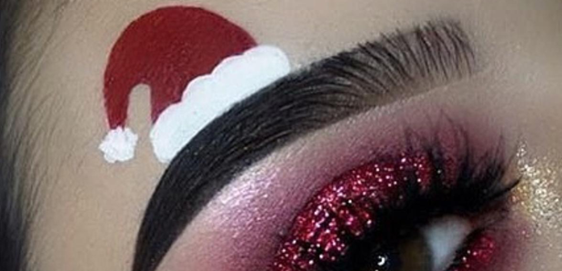 Christmas Eyebrows 2021 Move Over Squiggle Brows Santa Brows Is The New Trend You Need This Christmas Capital