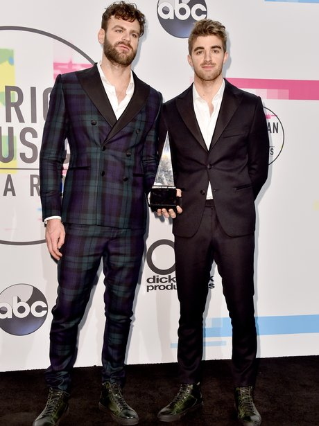 The Chainsmokers American Music Awards 2017